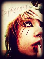 I'm different... by GothicHeart9
