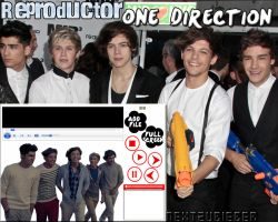 Reproductor de musica ejecutable: One Direction by Cursorsandmore