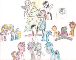 Merry Christmas, everypony! by 3600LetGo
