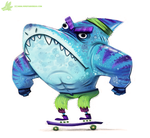 Day 801# #STREETSHARKS #sketch_dailies by Cryptid-Creations