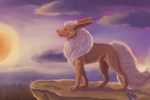 Old - Flareon by recycled-batteries