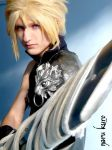 Cloud Strife Final Fantasy Advent Children by kurosakimaikon