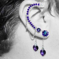 Heliotrope Ear Wrap V4- SOLD by YouniquelyChic