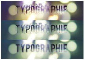 Typographie by faust8