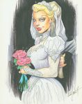 Disney Haunted Mansion Bride by andypriceart