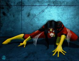 Spider-Woman by Protokitty