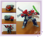 Optimus Prime -TFP Beast Hunters- by The-Butcher-X