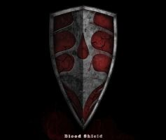 Blood Shield (Dark Souls design contest winner) by Voncroee
