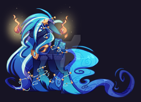 Scented Pony adopt: Azure Stardust Closed by MidnightSketches