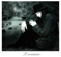 L'ecrivain by Gerene33