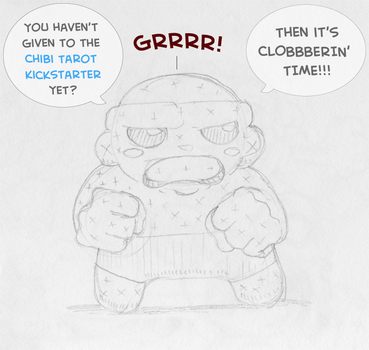 Chibi Ben Grimm for the Chibi Tarot! by epimetheus