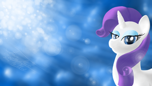 Rarity by Fancymareinblue