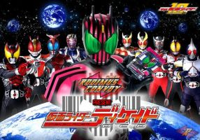 2009 Kamen Rider Decade by blueraven85