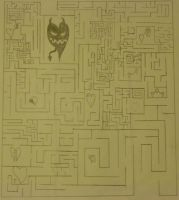 Maze of love - Close up by ACrispyHobo