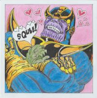 Happy Valentines - Even Mad Titans Have Soft Spots by conradknightsocks