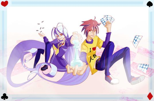 No Game No Life by sketchbeetle
