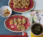 Homemade Mini Pot Stickers on Skewers by theresahelmer