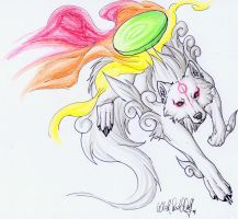 .::Okami::. by WhiteSpiritWolf