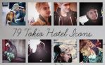 Icons: Tokio Hotel set13 by Mariesen