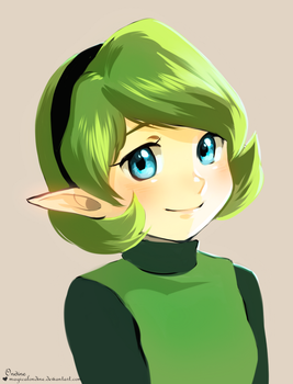 Saria by magicalondine