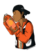 Orange Soda by Chexmicks