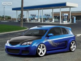 Mazda 3 for Deviantwheels by odyar
