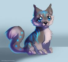 Sparkle Puppy -Adoptable- by Makirou