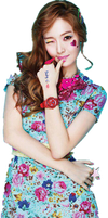 Jessica Girls' Generation PNG Render by Shifa1204