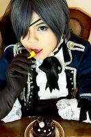 Ciel Phantomhive: Tea Party. by Lishrayder