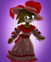 Collab- 18th C Hedgie Hannah by Madame-Finitevus1890
