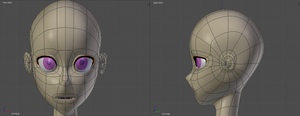 3D Anime Topology workflow by DraconianRain