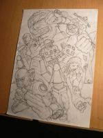 Centurions sketch by FranciscoETCHART