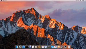 blurry Sierra : theme for Docky by P0umon