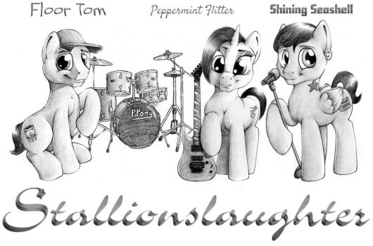 Stallionslaughter (All band OCs) by HardRockLlama