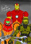 Armored Heroes by BenjiPrice