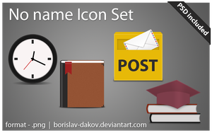 No name icon set by borislav-dakov