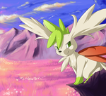 Valley of Shaymin by Jiayi