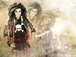 Tokio Hotel - Bill Kaulitz by NaTalyshka