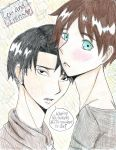 Levi and Eren~ by ani-chi-chan