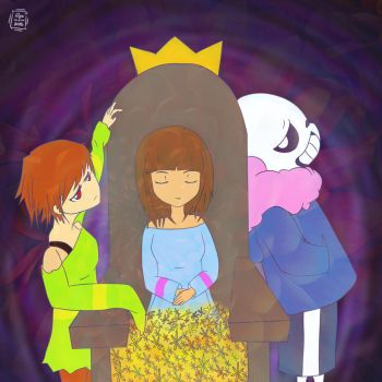 Undertale - The Queen by janis-roxas