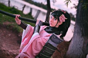 Momohime princess of Narukami by PuchysLove