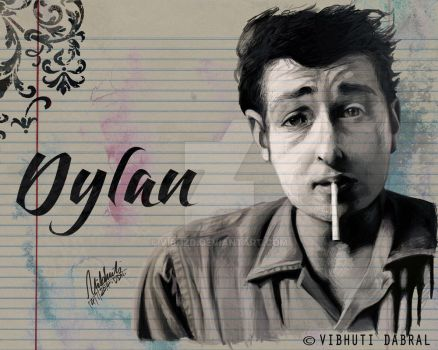 Dylan Portrait Modified Watermarked by VibhzD
