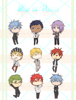 Free KnB Keychains at ManiFest!! by KeiiGreenTea
