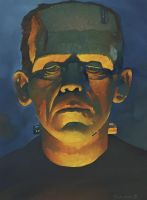 Karloff as The Monster small by ChristopherStevens