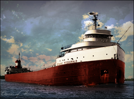 The Edmund Fitzgerald by RMS-OLYMPIC