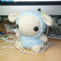 Sheep WIP by Heartstringcrochet