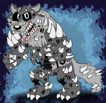 Twisted Silver Wolf by Rustywolf14
