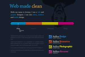 sallee design splash page by LeMex