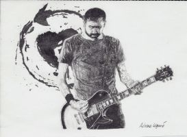Tim McIlrath guitar by Xnyl-TouIne