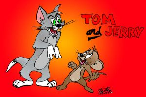 Tom and Jerry by MatthewHunter